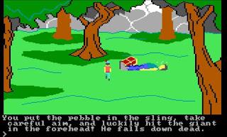 Videojuego King's Quest I para IBM PCjr - 1984