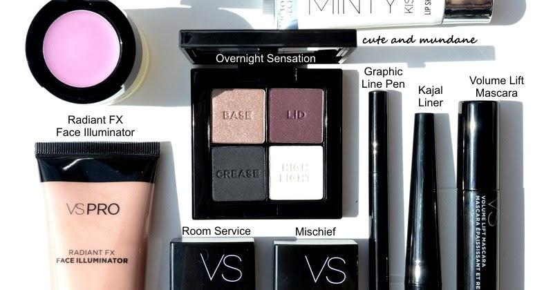 Cute and Mundane: Victoria's Secret Beauty : makeup haul ...
