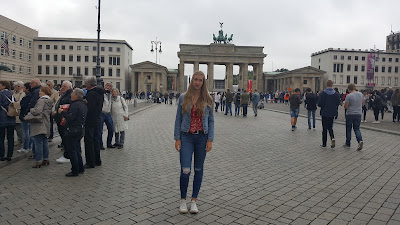 Outfit of the Day Brandenburger Tor
