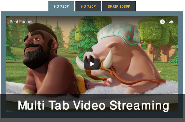 Multi tab video streaming para Blogger