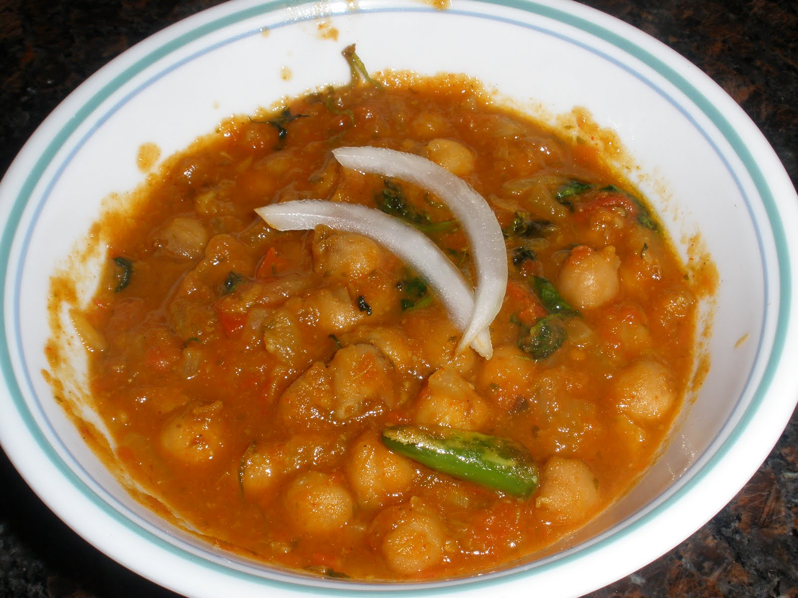 Nehal's Food and Garden: Chhole