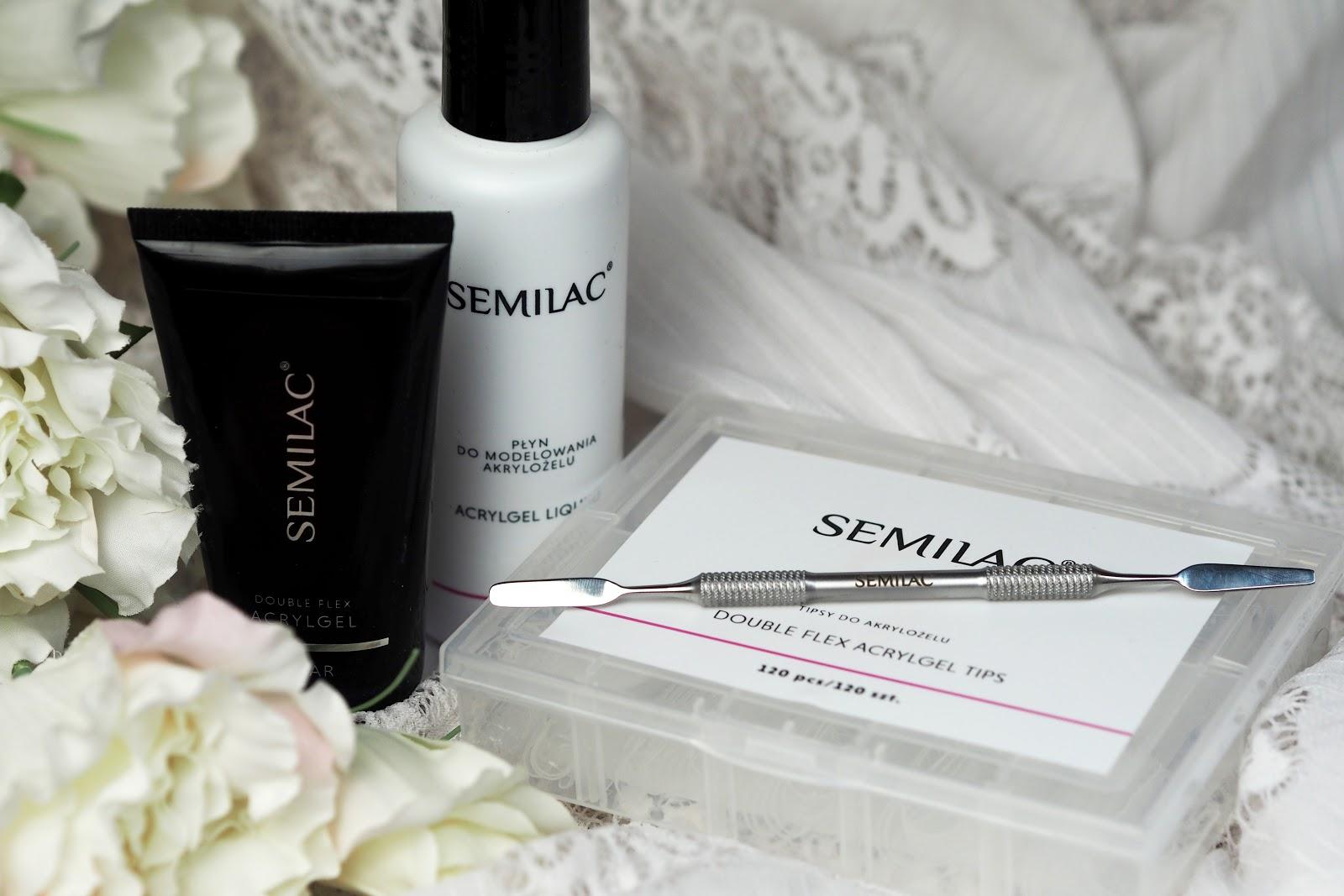 przedłużanie paznokci semilac