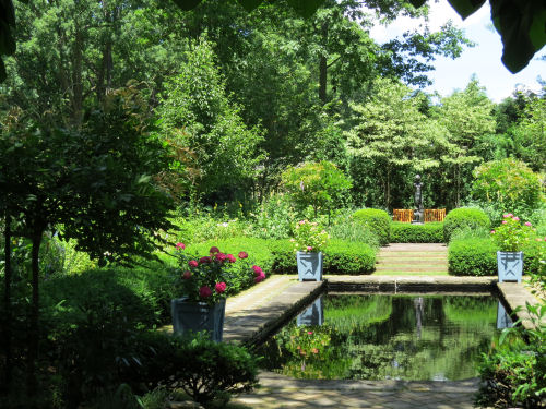 Stan Hywet English Garden