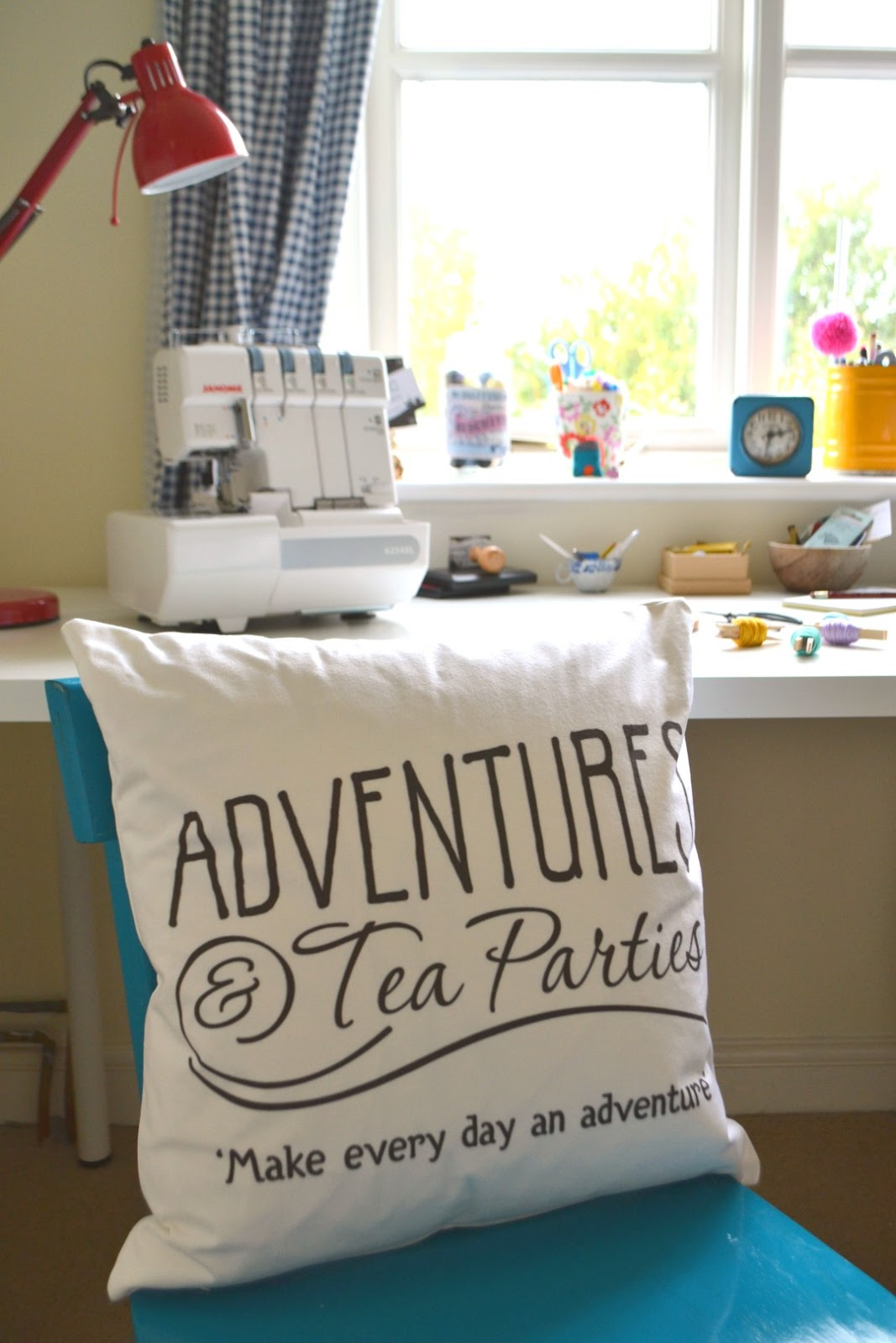 Adventures & Tea Parties Bags of Love Personalised Cushion Review