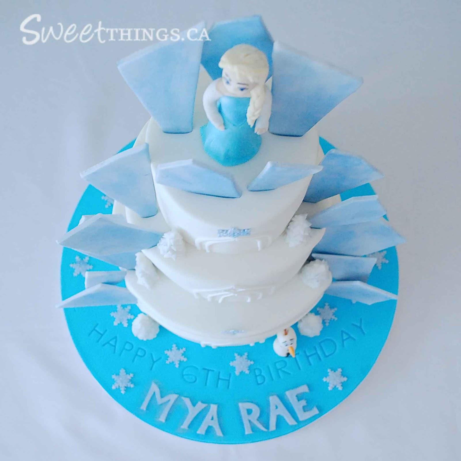 Frozen Birthday Cake Toronto