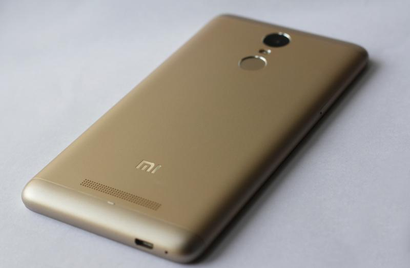 xiaomi redmi note 4 with helio x25 soc and 4gb of ram