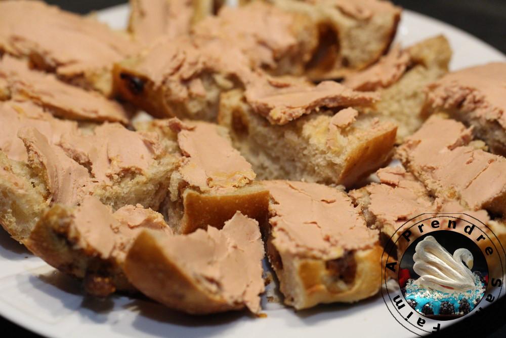 Bouchées figues foie gras