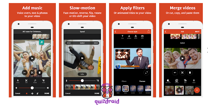 best video editing apps for android - Top Trending! - Quizdroid