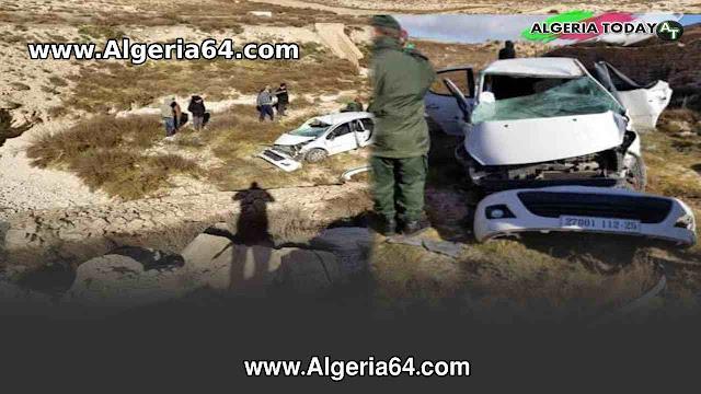 عاجل : وفاة شابين إثر حادث مرور بششار ولاية خنشلة