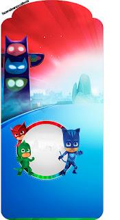 Para marcapáginas de Super Héroes en Pijamas.