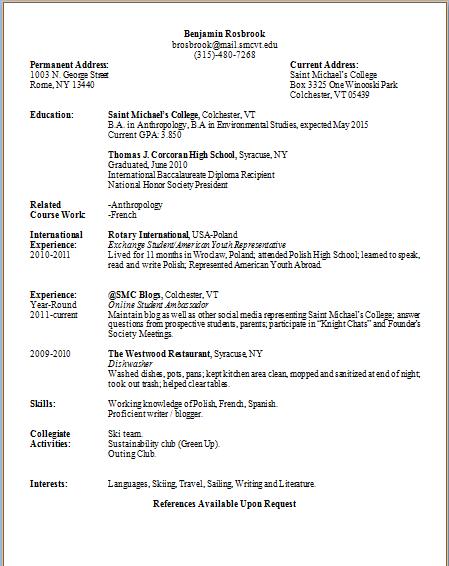 resume services utica ny