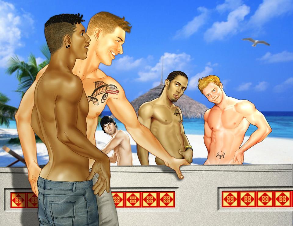 cowboy gay fantasy trifecta jon stewart