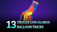 13 trucos con globo, magia-ciencia