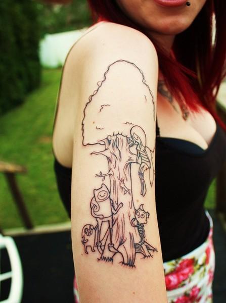 Tatuajes De Hora De Aventura Adventure Time Tattoo