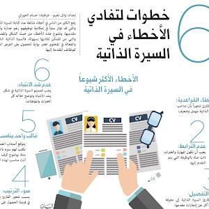 نموذج سيرة ذاتية رقم 7 باللغة العربية جاهزة للتحميل و الطباعة Cv