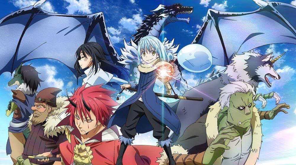 Bohaterowie anime Tensei shitara Slime Datta Ken