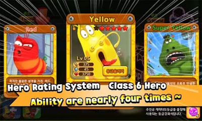 Download Larva Heroes Apk Mod Unlimited all