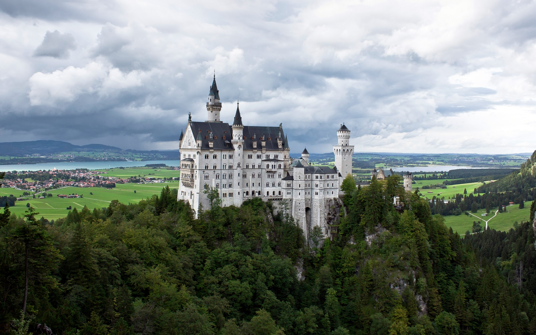 neuschwanstein castle hd wallpapers 4k macbook and