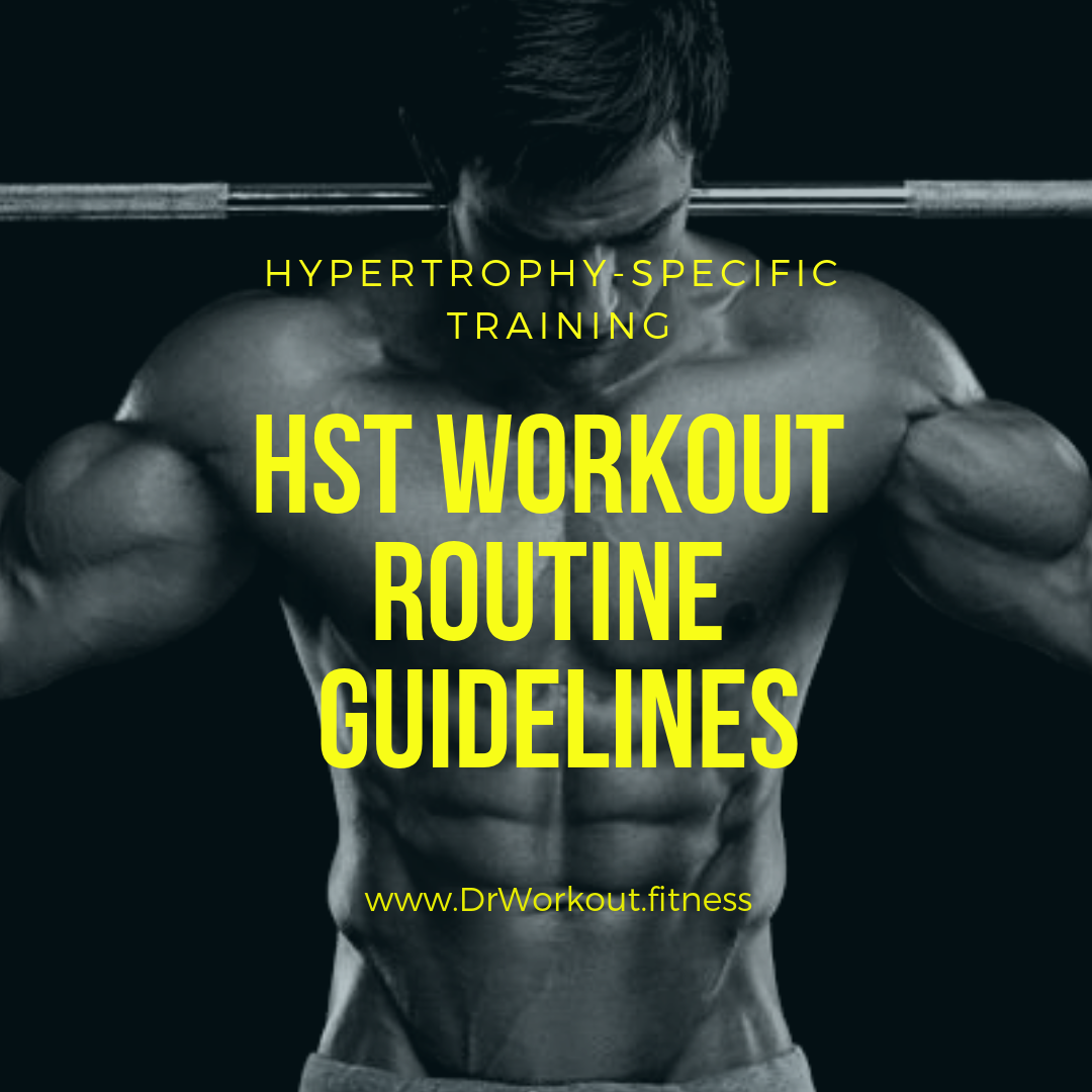 HST Workout Routine Guidelines