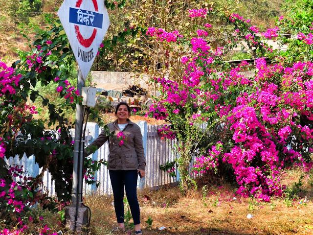 कोंकण रेलवे विन्हेरे स्टेशन