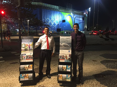 Jehovah's Witnesses at Rio Olympics.
