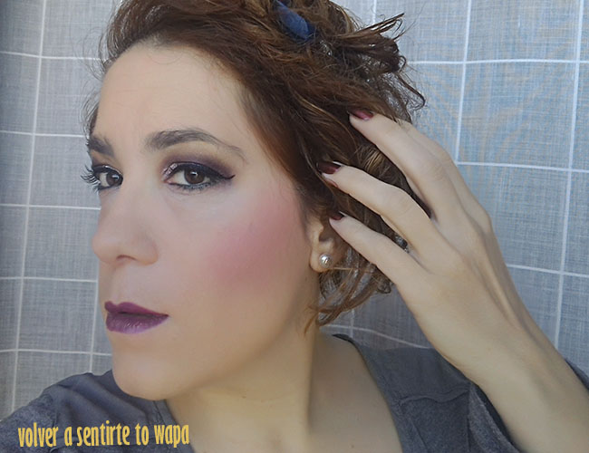 MAKE UP | delineado pin up con ojos en color