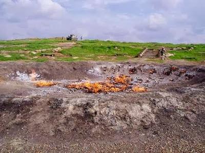 "Misteri Api Abadi 4000 Tahun "" Baba Gur """