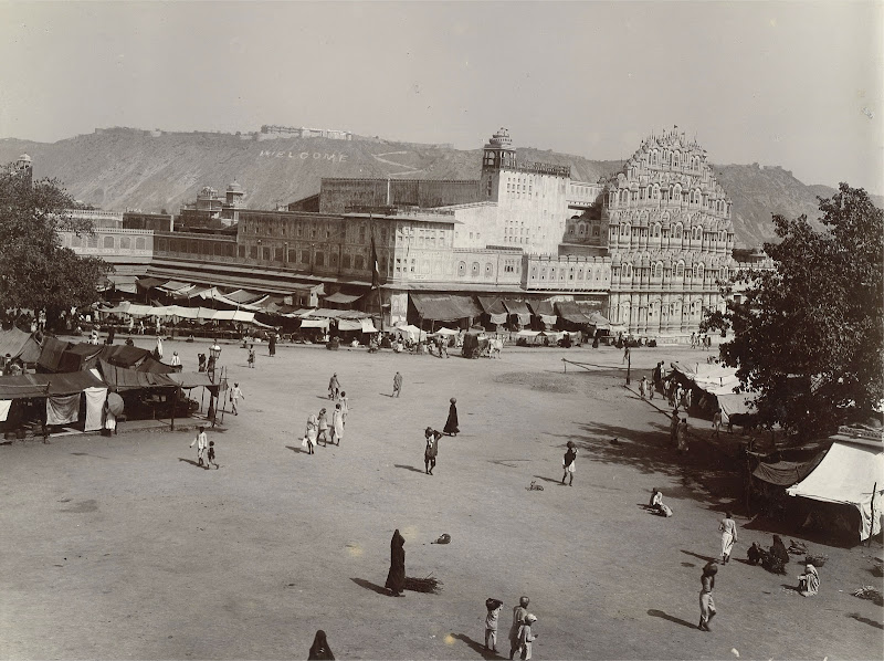 Hawa Mahal (Palace of Winds), Jaipur, Rajasthan - 1905