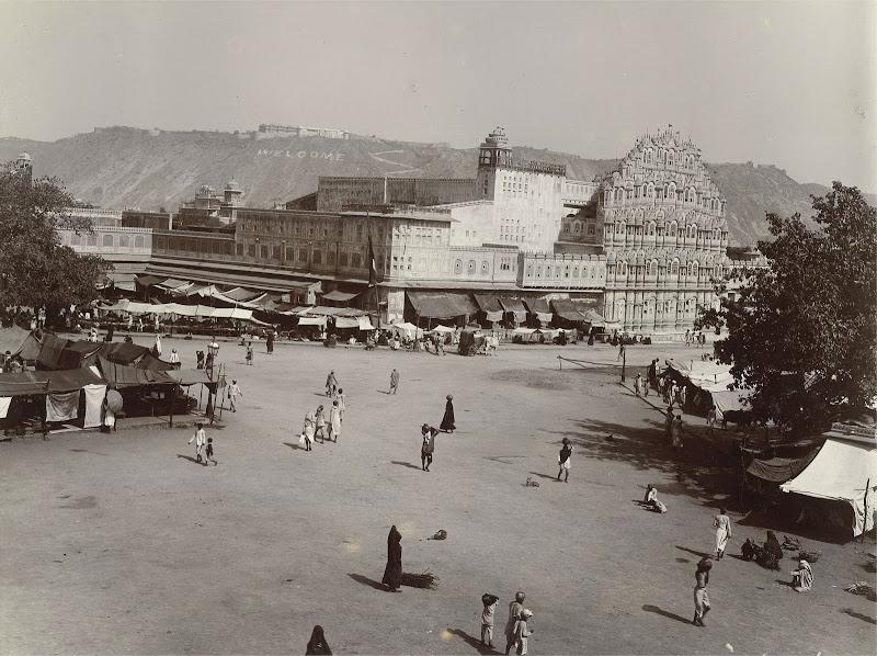 Hawa Mahal (Palace of Winds), Jaipur, Rajasthan - 1905