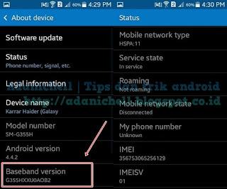 Cara Mengetahui Versi Firmware Android Masih Setengah Normal