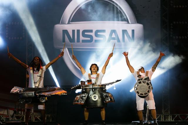 Piezas del Nissan Kicks se convierten en instrumentos musicales