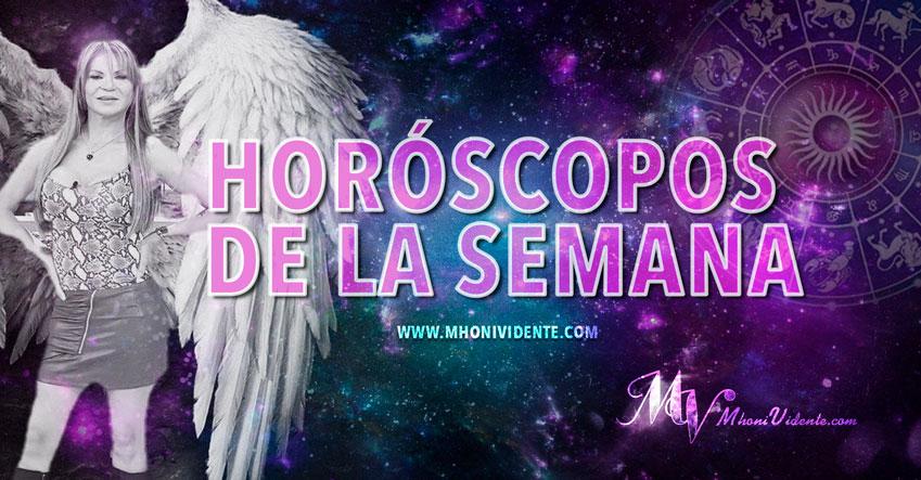 Los horóscopos de la semana del 3 al 7 de Diciembre 2018