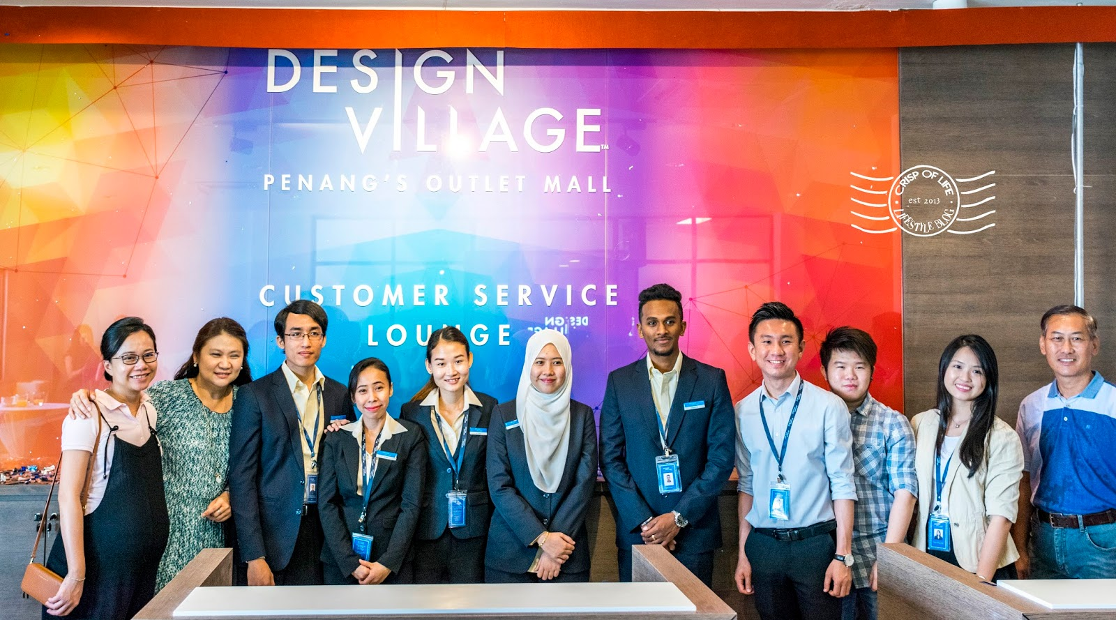 Design's Village Penang Outlet Mall's Customer Service Lounge launched!