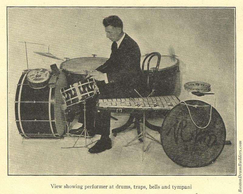 Geo. Stone Drumset from 1927 Gardner Method