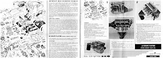 Jaguar XKE - E-type Revell 1/8 Monogram manual