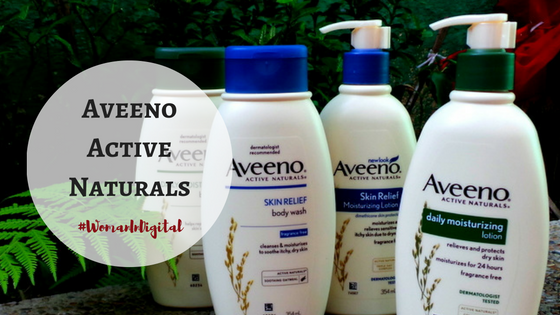 Aveeno Naturals Skin Relief and Aveeno Daily Moisturising