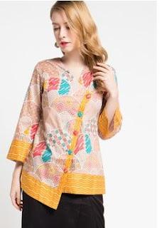 Contoh Model Baju Batik Terbaru