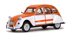 Penguin Car: 2CV Spot