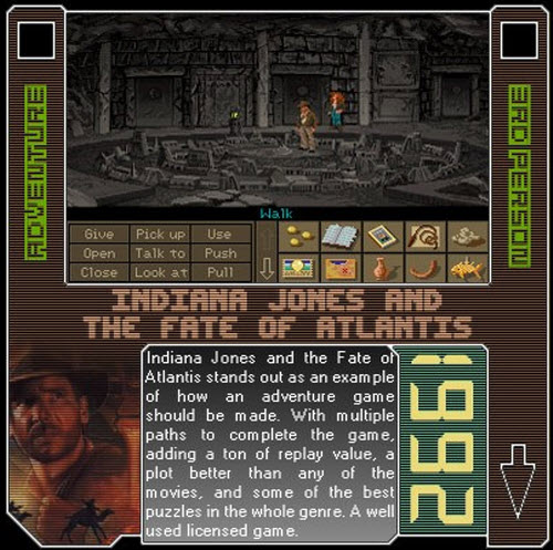 1992 - Indiana Jones And The Fate Of Atlantis