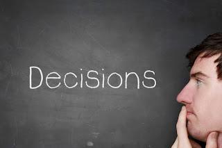 DECISIONS, Cara memilih keputusan, keputusan, memilih keputusan