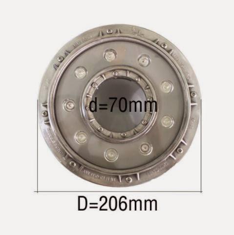 ĐÈN LED ÂM NƯỚC 9W DẠNG ỐNG INOX