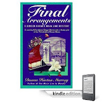 Donna Huston Murray's Main Line Mystery <i><b>FINAL ARRANGEMENTS</b></i> is our Kindle eBook of the Day - 5 Stars, Just $2.99, and Here's a Free Sample!