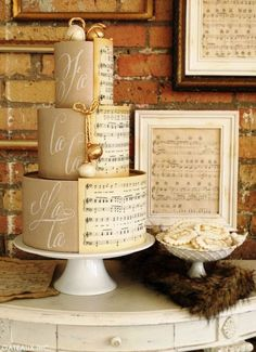 Ideas For A Gorgeous Music Themed Wedding Lots Of Love
