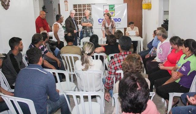 Prefeita autoriza a pavimentação nos bairros Jardim Carvalho e João Paulo II