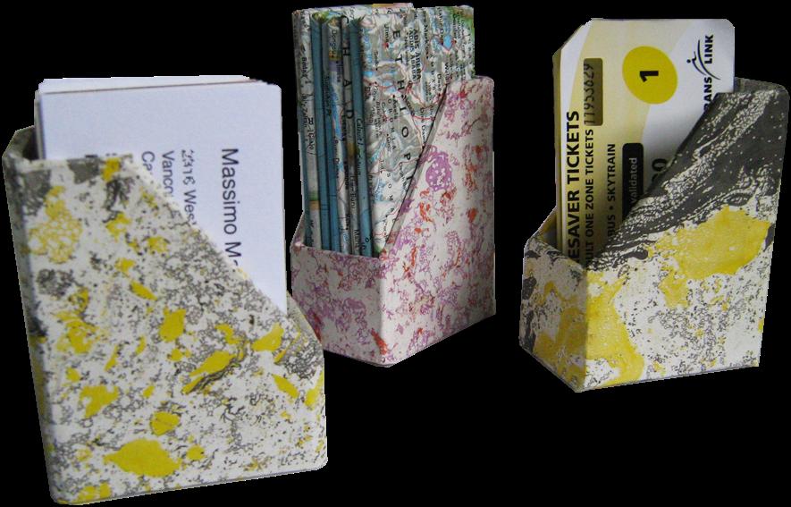 Cardboard Design Workshop BUSINESS CARD HOLDER