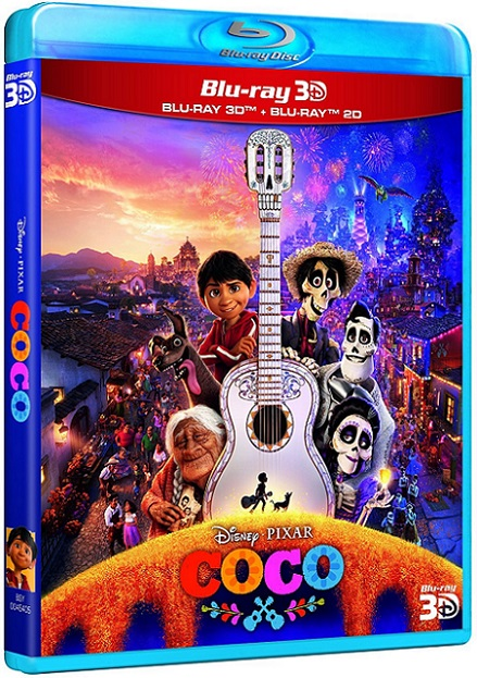 Coco 3D (2017) m1080p BDRip 3D Half-OU 9.4GB mkv Dual Audio DTS 5.1 ch