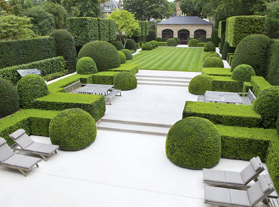 gambar unik taman clasik