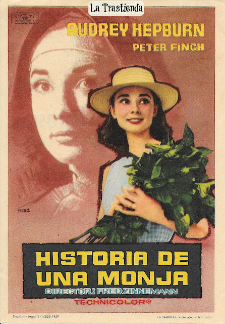 Programa de Cine - Historia de una Monja - Audrey Hepburn - Peter Finch