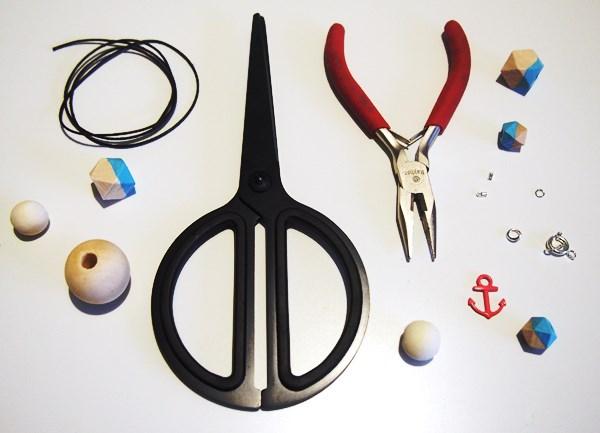 DIY : collier de perles en bois