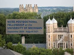 The Weiser Center for Emerging Democracies (WCED) Postdoctoral Fellowship 2020 $7,000